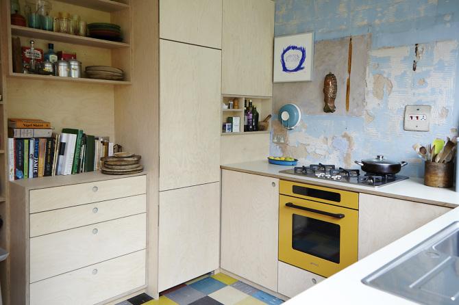 Birch Plywood Kitchen Stonermakes
