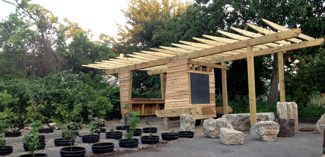 Outdoor Classroom Design Elementary School : Images about outdoor art learning maker space on